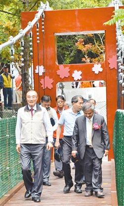 武陵農場京華橋 正式啟用