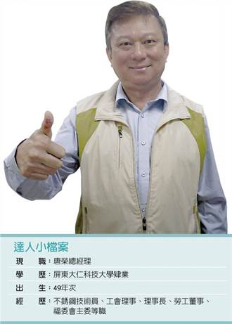 不滿遭國民黨惡意抹黑 張仲傑辭唐榮總經理