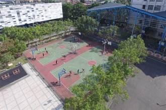 新北中央地方合作 土城體育場興建「風雨藍球場」
