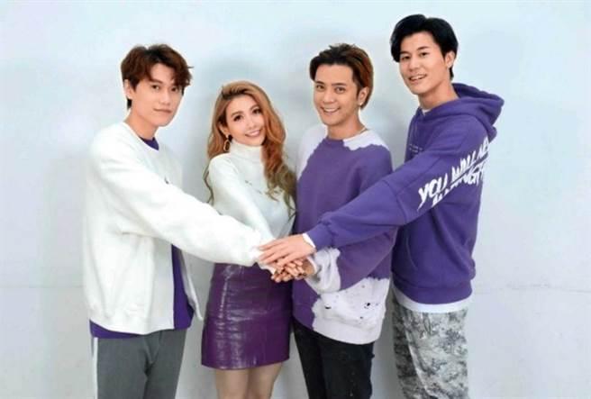 過去毛弟曾與羅志祥合作主持《娛樂百分百》,離開節目後兩人關係仍佳。(圖/八大電視提供)