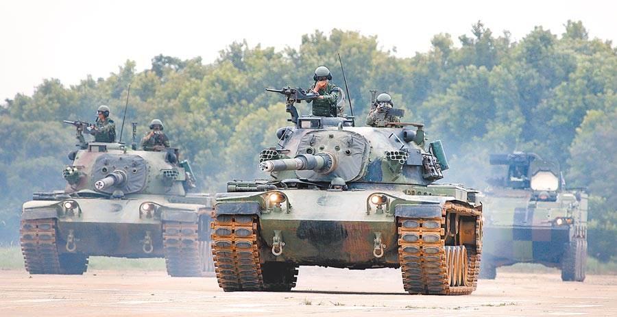 圖為漢光演習北部地區實兵對抗反機降演練。(本報資料照片)