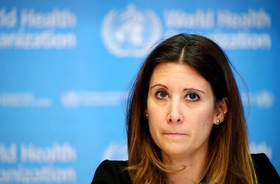 在全球239名專家施壓下,世界衛生組織(WHO)7日終於坦承,新冠病毒會藉由空氣傳播。圖為世衛流行病學家范科霍芙(Maria Van Kerkhove)。(資料照/路透社)