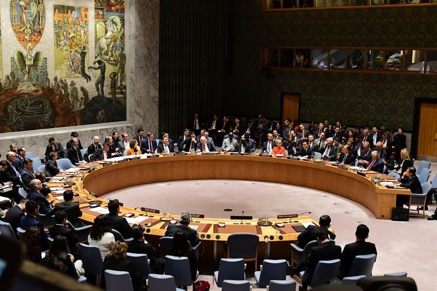 聯合國安理會會議廳。(Shutterstock)