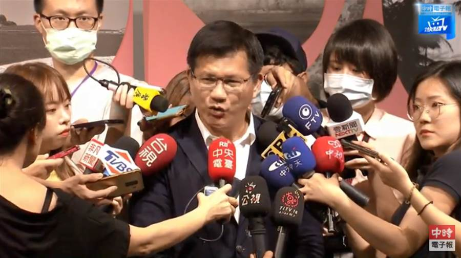 交通部長林佳龍。