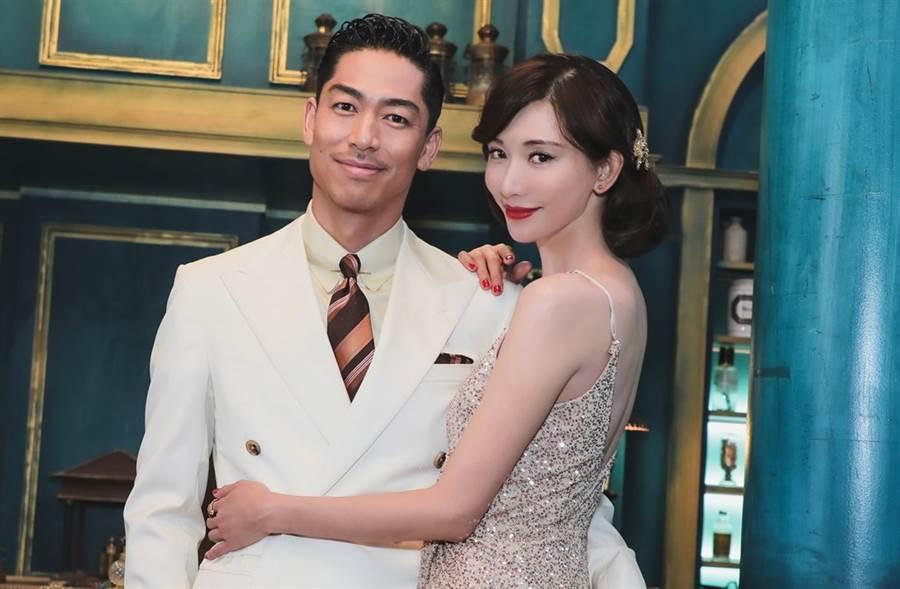 林志玲去年和AKIRA結婚。(圖/本報系資料照)