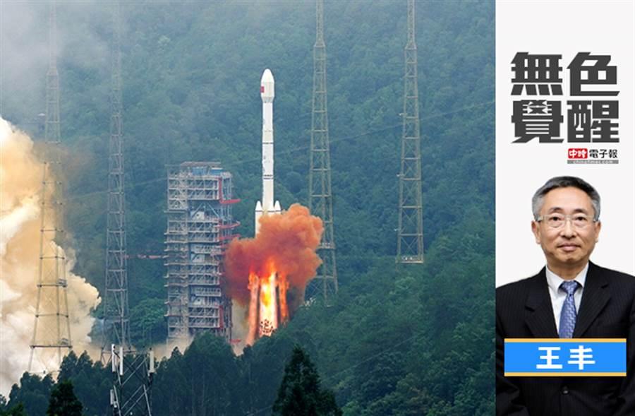 無色覺醒》王丰:中美太空PK大戰!北斗系統對陣GPS!(圖/新華社)