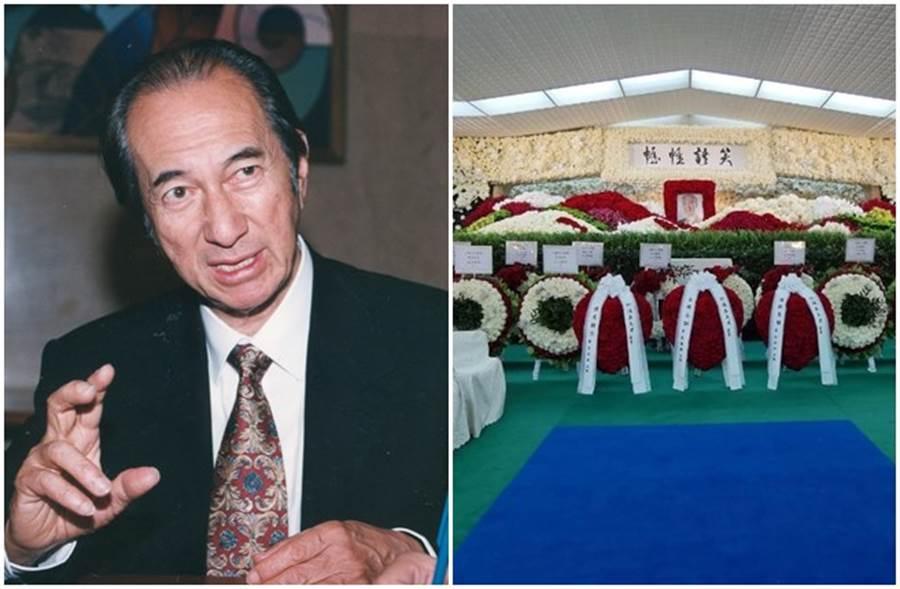 賭王何鴻燊靈堂以玫瑰花海打造而成。(本報系資料照、翻攝東網)