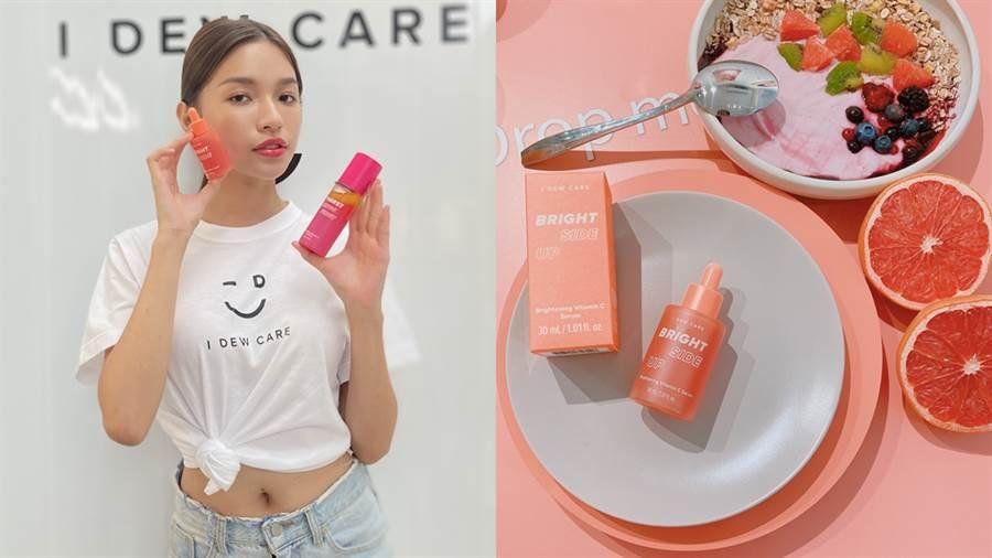 全新美妝品牌I DEW CARE終於來台灣了,超可愛的包裝保養時光變得好療癒!(圖/邱映慈攝影)