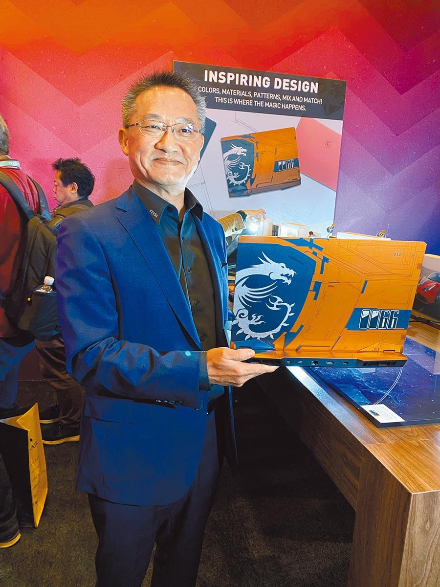 微星科技公司總經理暨執行長江勝昌,7日下午在新北市中和區公司驚傳墜樓身亡,享年56歲。(本報資料照)