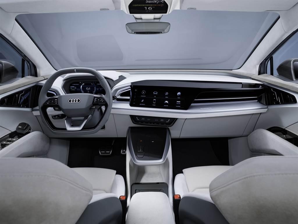 Audi Q4 Sportback e-tron concept 全球耀眼亮相