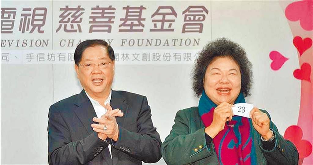 前高雄市長陳菊與三立電視董事長林崑海交好,卻因對市長接班人選意見不同而感情生變。(圖/報系資料庫)