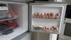 阿嬤把雞蛋丟冷凍 孫質疑:能吃嗎?網曝神奇效果