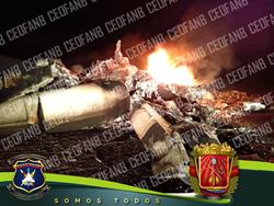 美私人飛機涉販毒驚傳闖領空 委內瑞拉空軍擊落瞬間畫面曝光