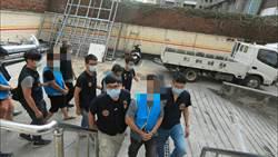 中市警強勢掃黑逮百名嫌犯查10槍