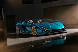 Lamborghini Sián Roadster亮相!零百加速僅慢0.1秒(內有影片)