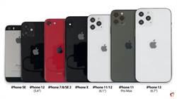 iPhone 12全系列對比舊iPhone 機身尺寸一目瞭然