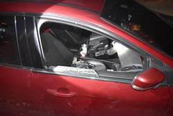 大甲、大安海堤邊車輛遭破窗 竊賊落網