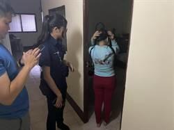 妙齡女網站發煽情照誘幻想 基隆警上門驚見數枚套套