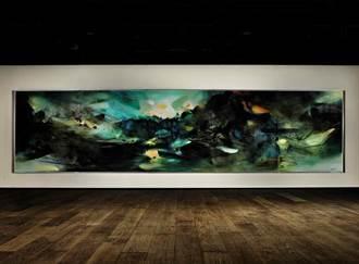 創藝術家紀錄 朱德群《自然頌》破億港元成交