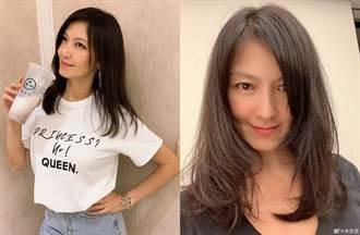林熙蕾素顏44歲真面目現形 網驚「女神老了?」