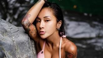 梁云菲解放胸罩慶30歲!「上半身沒穿」正面入鏡