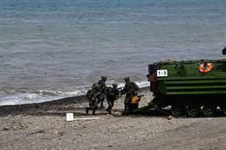 聯興操演移師屏東加祿堂海灘  取消突擊艇項目