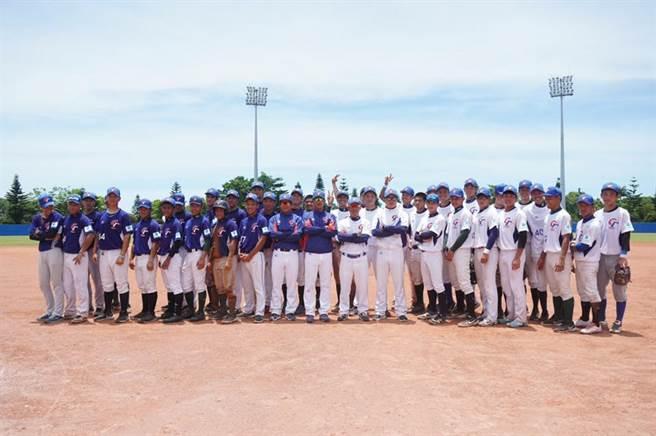 2020年亞青中華培訓隊結束第一階段集訓,從36人中選出22人。(中華棒協提供)