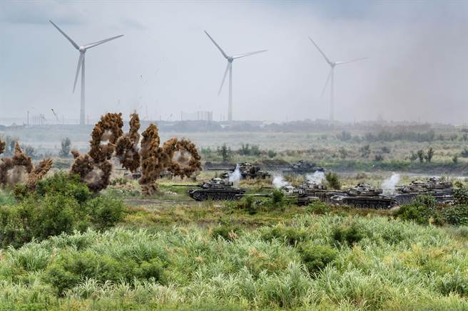 第五作戰區9日實施「聯合反登陸作戰」實兵演練先期任務訓練。軍聞社提供