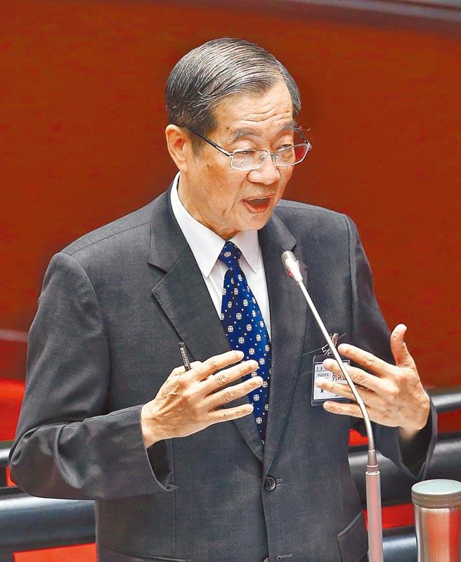第13屆考試院長被提名人黃榮村。(王英豪攝)