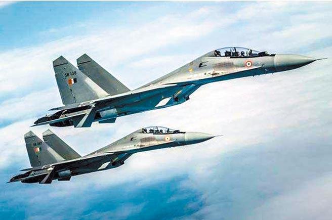 蘇-30MKI戰鬥機是印度空軍裝備的主要戰力之一。(取自新浪網)