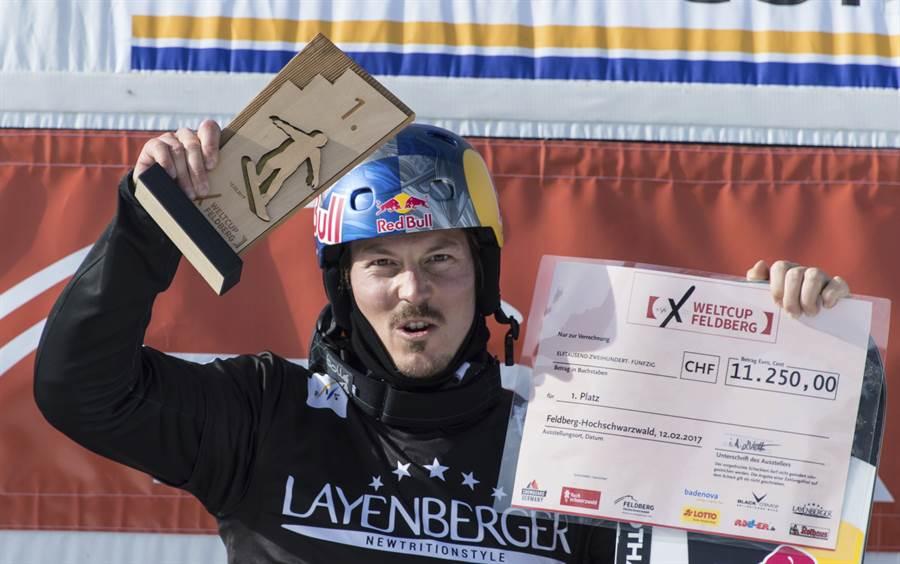 澳洲單板滑雪世錦賽金牌普林,在進行海獵時不幸溺水身亡。(資料照/美聯社)