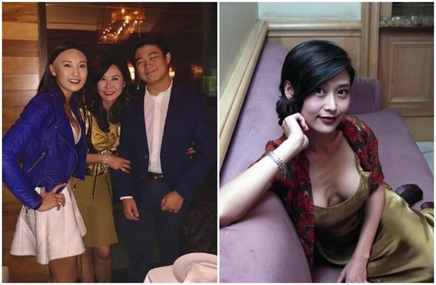 葉玉卿2018年曾被女兒曝光慶生照(左),52歲美貌依然驚人。(取自IG、本報系資料照)