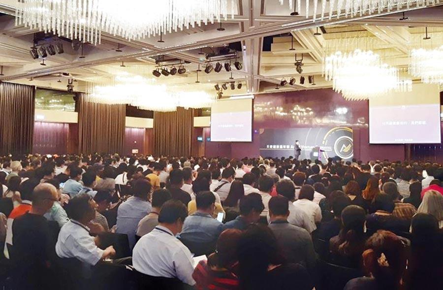 日前於台北W Hotel盛大登場的「2020天使創投嘉年華」,現場超過千人參與。圖/謝易晏