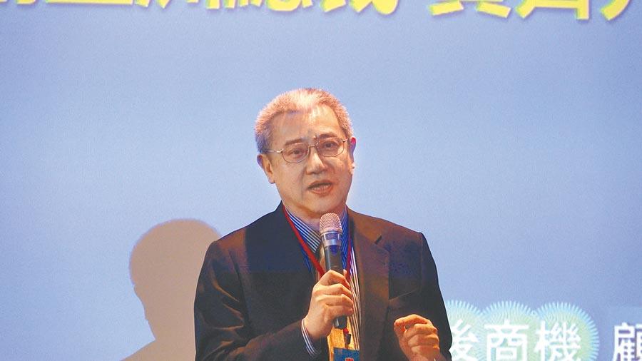 藍濤亞洲總裁黃齊元。(記者林誌鈺攝)