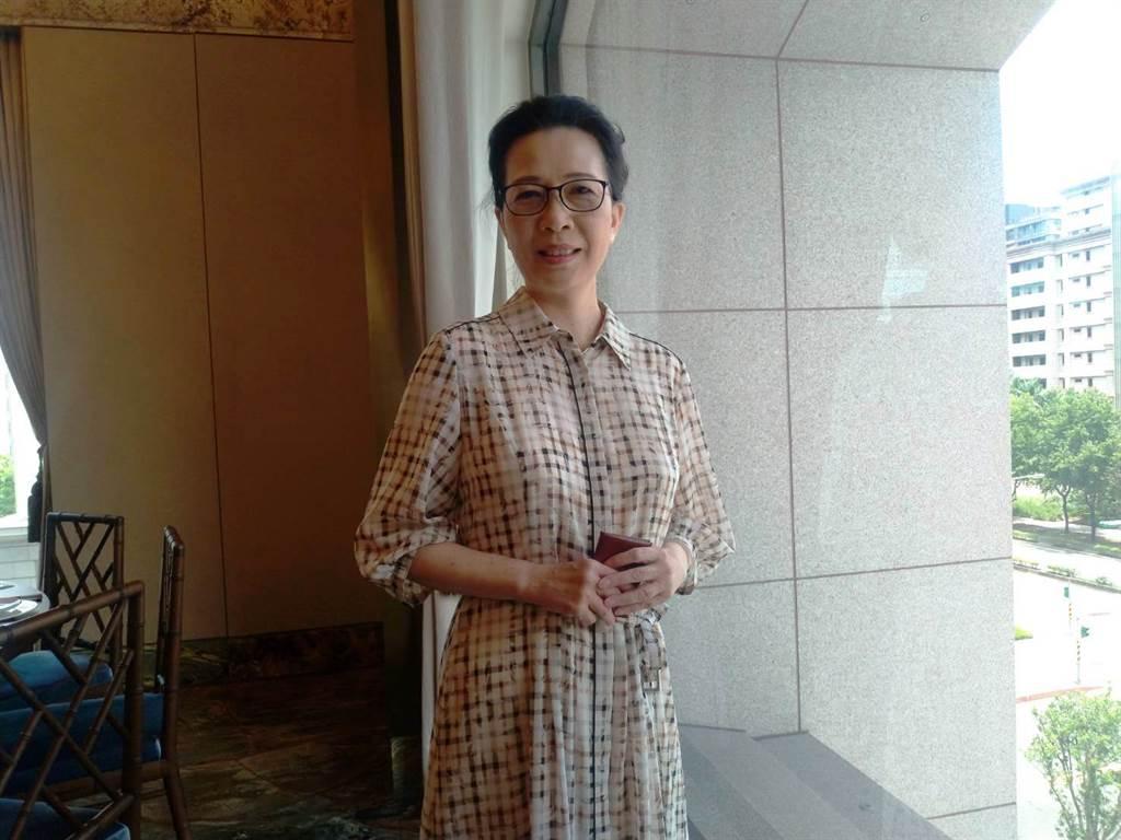 中華工程董事長朱蕙蘭表示,中華工程將以營造本業、建設開發、海外發展,三箭齊發。(葉思含攝)