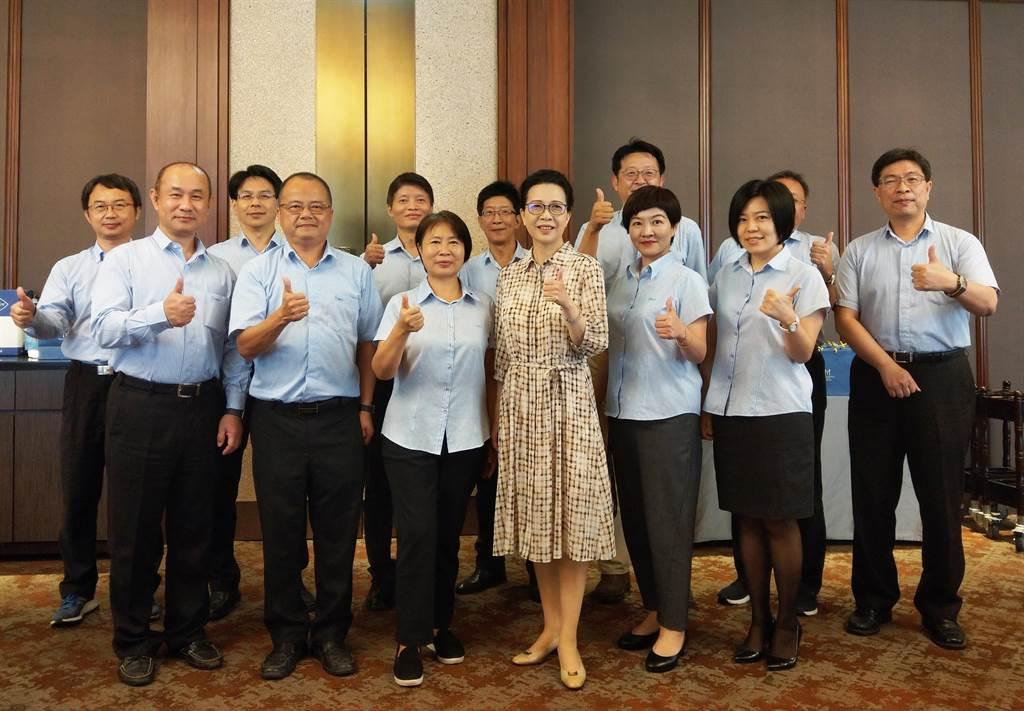 中華工程董事長朱蕙蘭將率領中工團隊,將公司營運分3大方向。(葉思含攝)