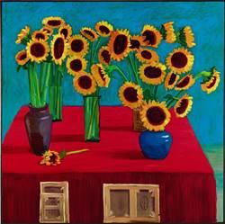 創拍場紀錄!霍克尼一朵向日葵要價1,453萬台幣