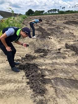 大新營空氣飄惡臭 環保局揪出施肥農田開罰