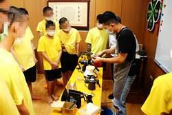苗栗少年觀護所 教收容少年泡咖啡