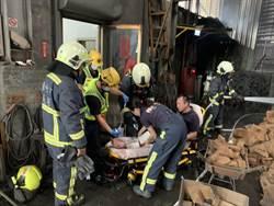 台中模具工廠傳火警 4工人1警消燒傷急送醫