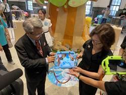 搶救藝術品大作戰 水果奶奶邀孩子前進南美館