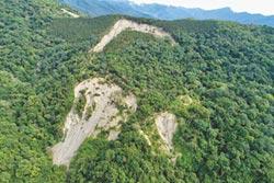 玉里21林班地崩塌處 持續位移