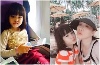 最美星二代再+1!鍾麗緹小女兒長大了 逆天美貌吸睛