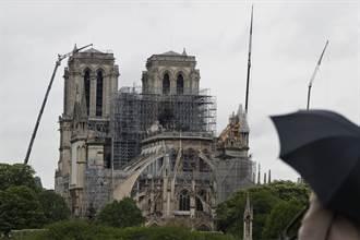 馬克宏:聖母院尖塔將復原歷史 按原設計重建
