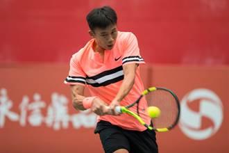 正新瑪吉斯第一金控盃網球賽 陳迪表演賽世紀對決