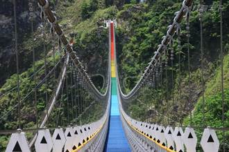 全台最長超過30層樓高彩虹吊橋 你敢來挑戰