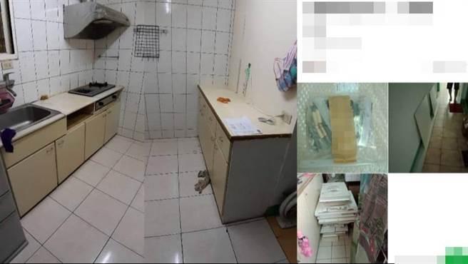 汐止民眾反映有系統家具業者收了工程款卻擺爛,才發現已有多人受害。(許家寧翻攝)