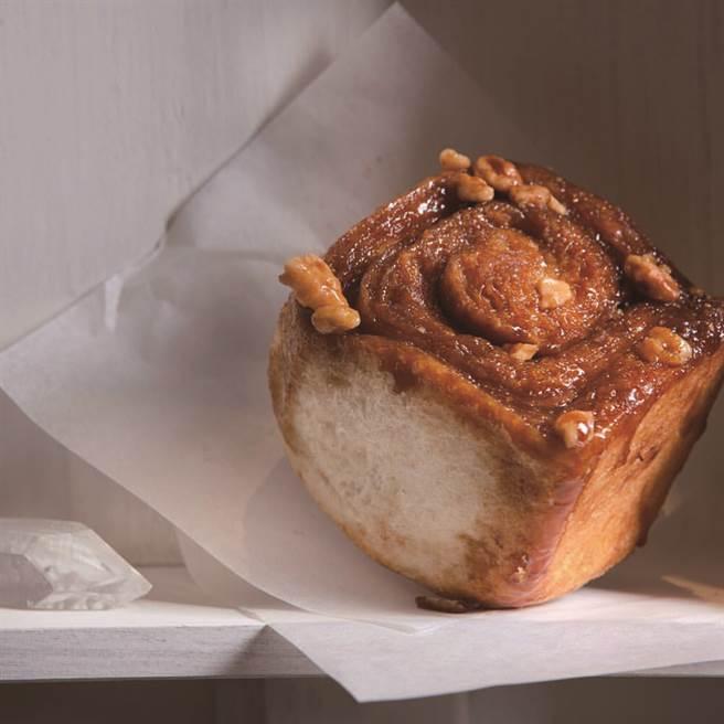 「Heritage Bakery & Café」調配4 種肉桂粉,堆疊出不同層次的香氣,越是咀嚼變化越是多元。(圖/台北畫刊提供)