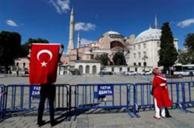 聖索菲亞將恢復為清真寺?(路透)