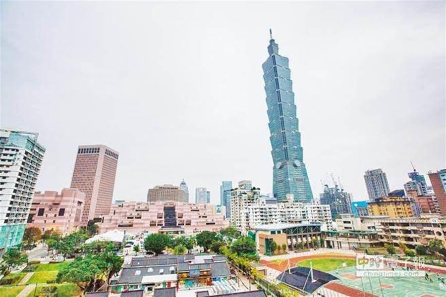 台北市示意圖/本報資料照
